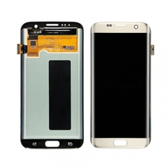 Original Golden LCD For Samsung Galaxy S7 Edge Lcd Display